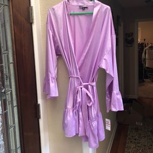 NWT Silk Robe